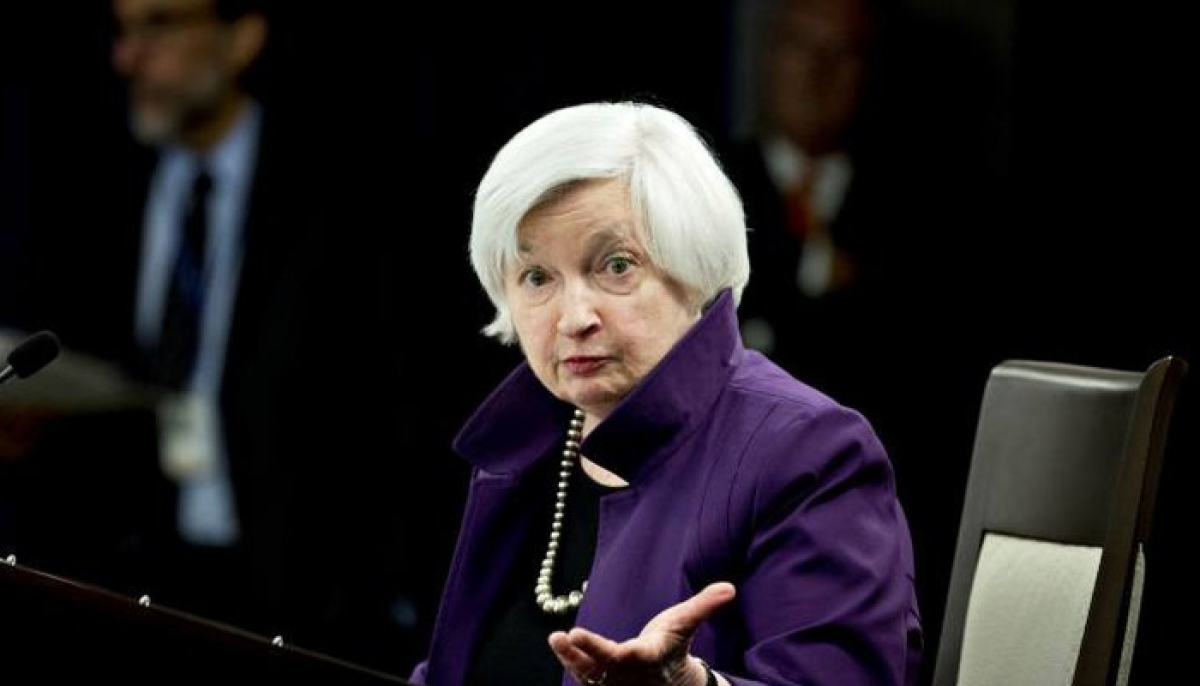 Bà Janet Yellen - Ảnh: Reuters.