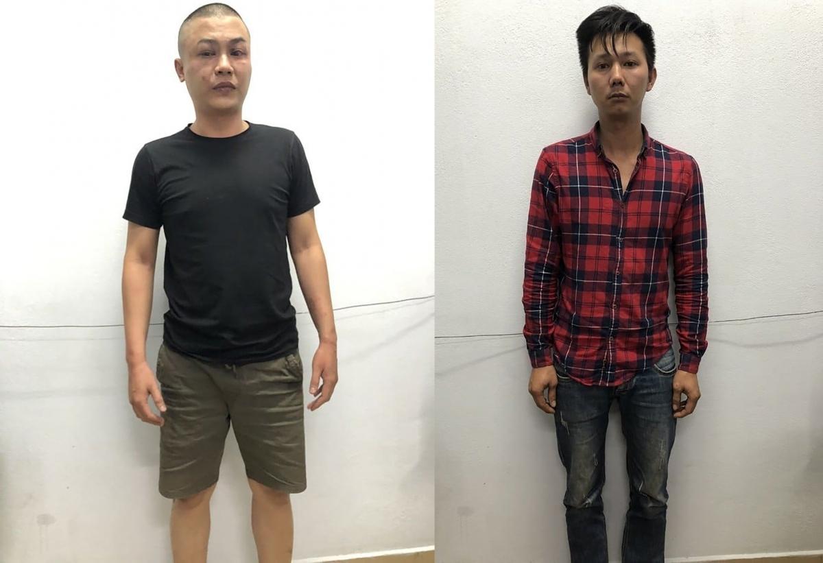 Hai đối tượng Lê Hoàng Thảo và Trần Thanh Long.