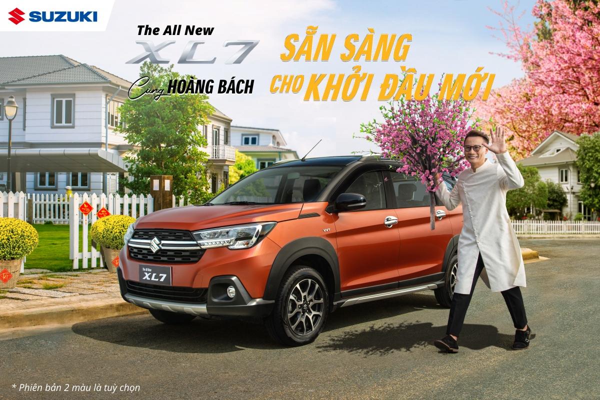Hoàng Bách đồng hành cùng Suzuki truyền tải thông điệp sẵn sàng cho khởi đầu mới, cùng khách hàng Việt nâng chuẩn sống, đón Tết truyền thống.