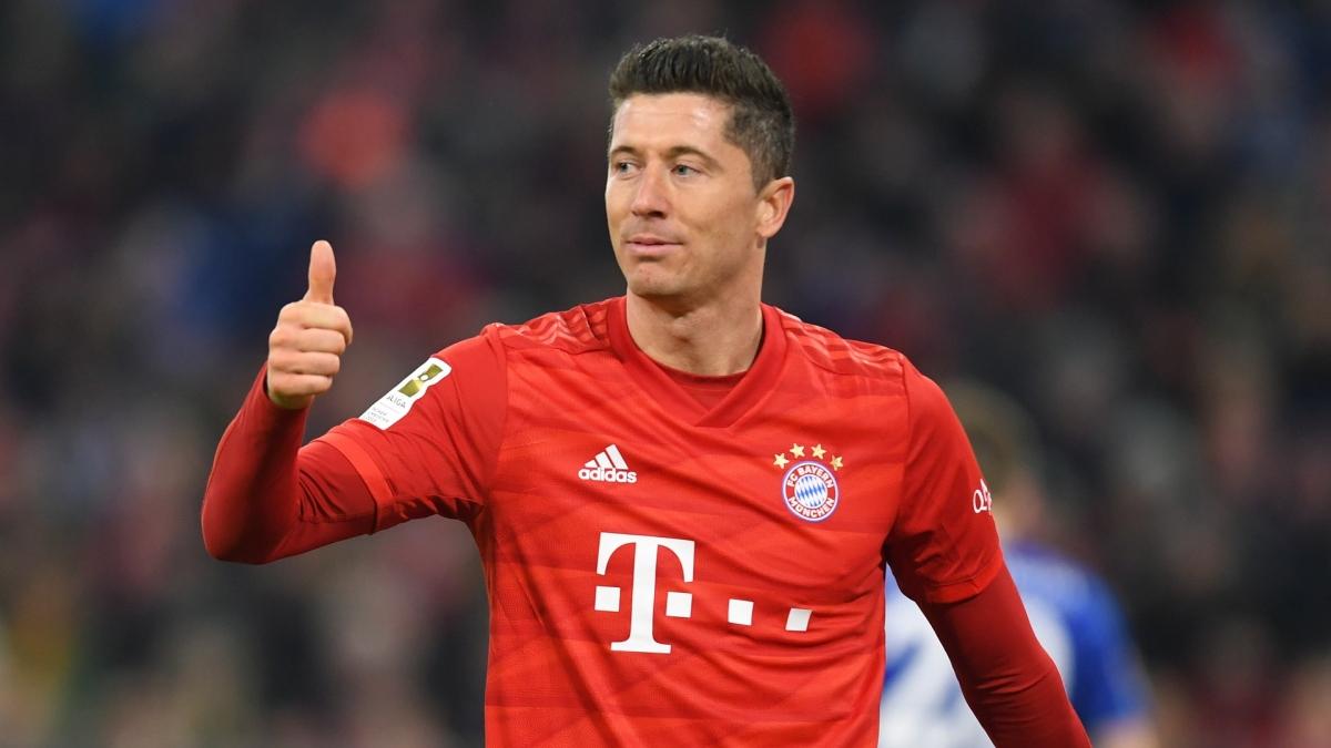Tiền đạoRobert Lewandowski (Bayern)