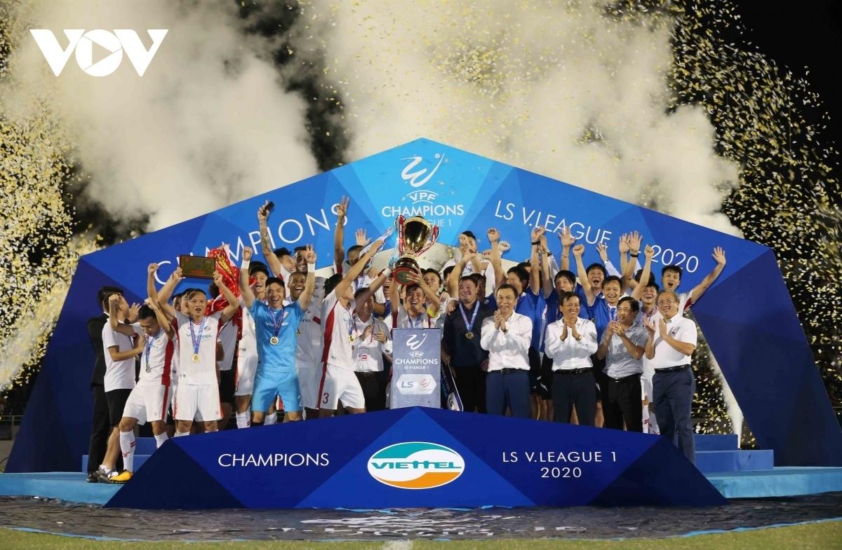 Viettel đối mặt ĐKVĐ Ulsan Hyundai trong lần đầu tiên dự AFC Champions League. (Ảnh: Minh Hoàng).