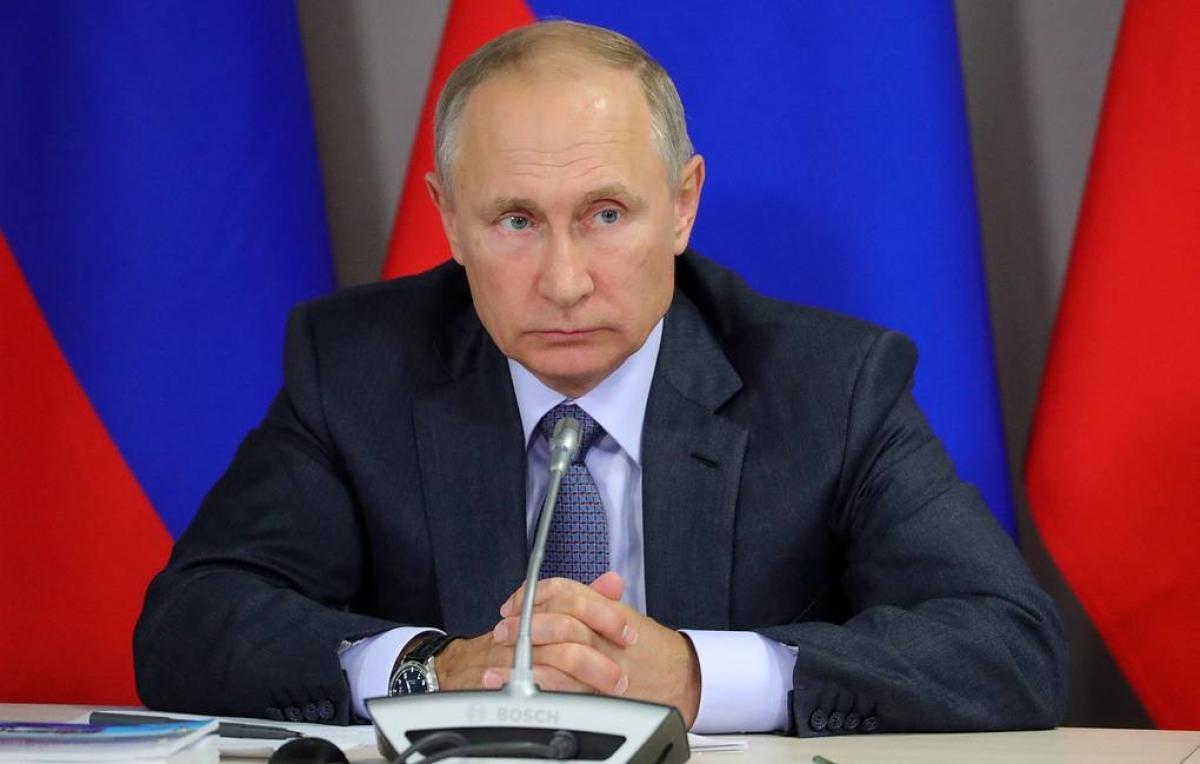 Tổng thống Putin. Ảnh: TASS.