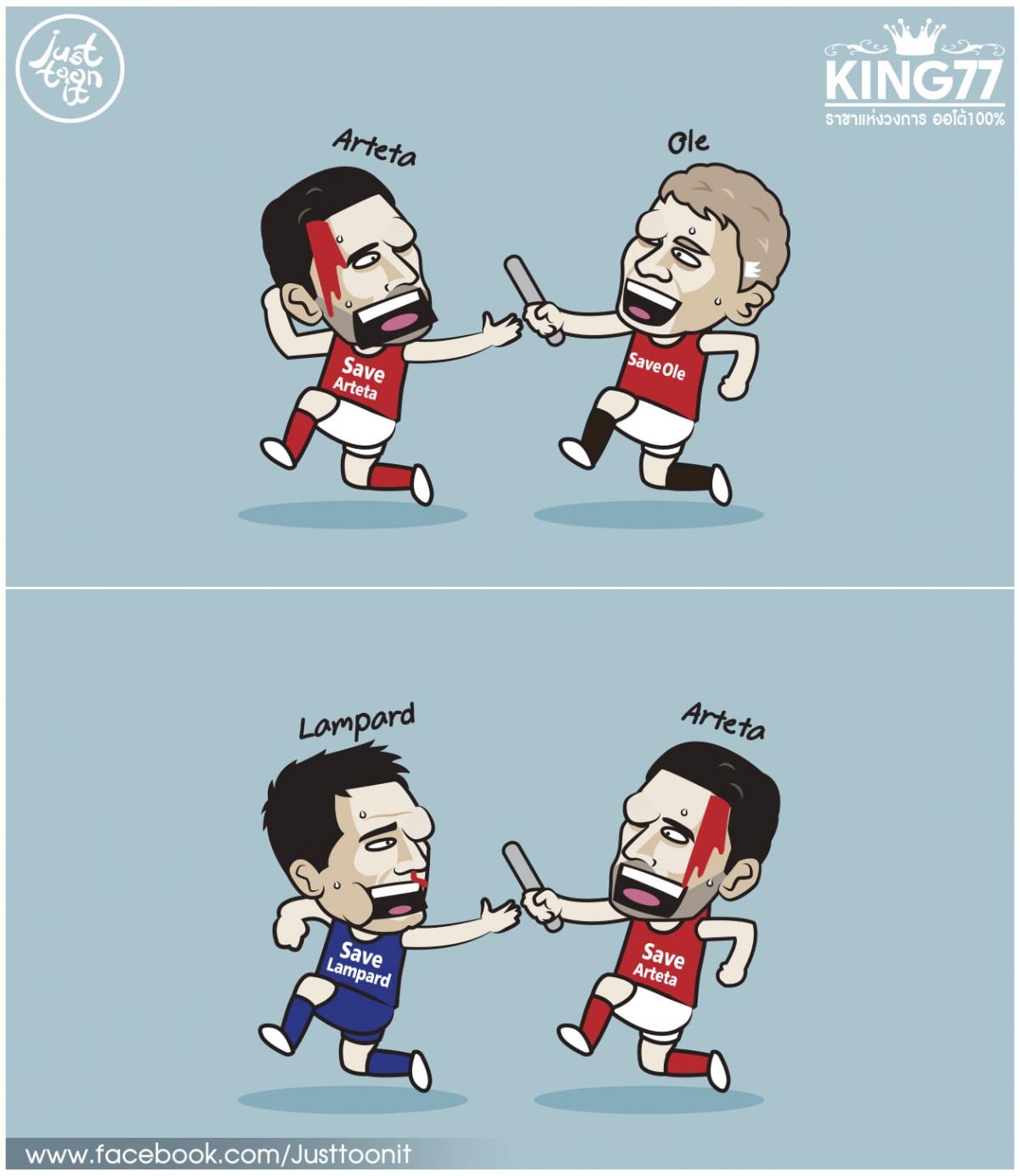 """Đã đến lúc Premier League mở chiến dịch giải cứu Frank Lampard, bảo vệ """"kho điểm"""" Chelsea? (Ảnh: Just Toon It)"""