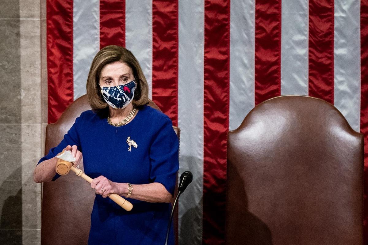 Chủ tịch Hạ viện Nancy Pelosi. Ảnh: Getty