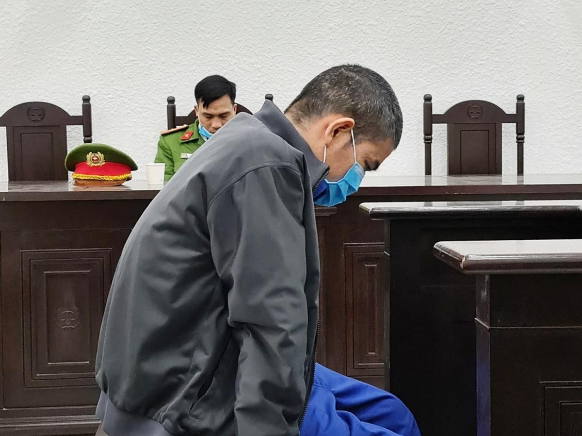 Bị cáo Đặng Hùng Mạnh tại phiên xét xử. (Ảnh: Nguyễn Anh)