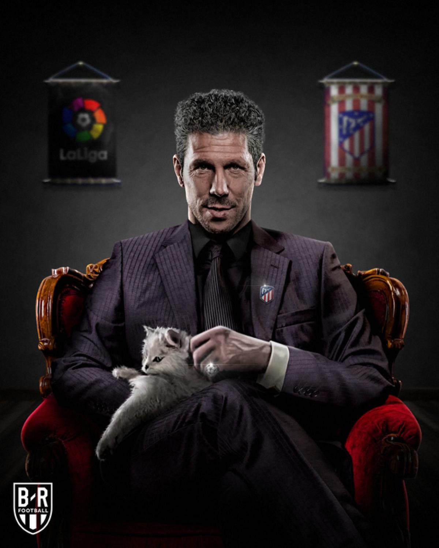 Atletico Madrid thống trị BXH La Liga. (Ảnh: Bleacher Reports)