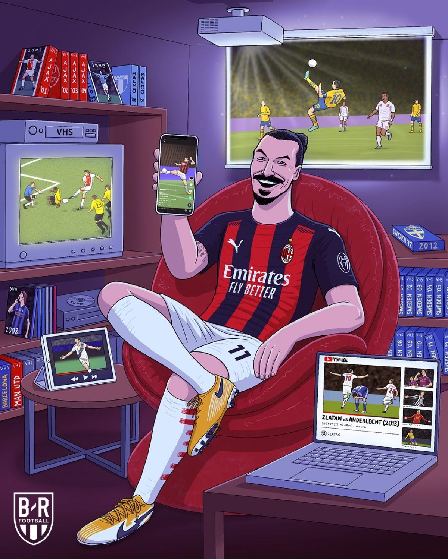 Zlatan Ibrahmovic đã liên tục ghi bàn từ năm 1999 tới nay. (Ảnh: Bleacher Reports)