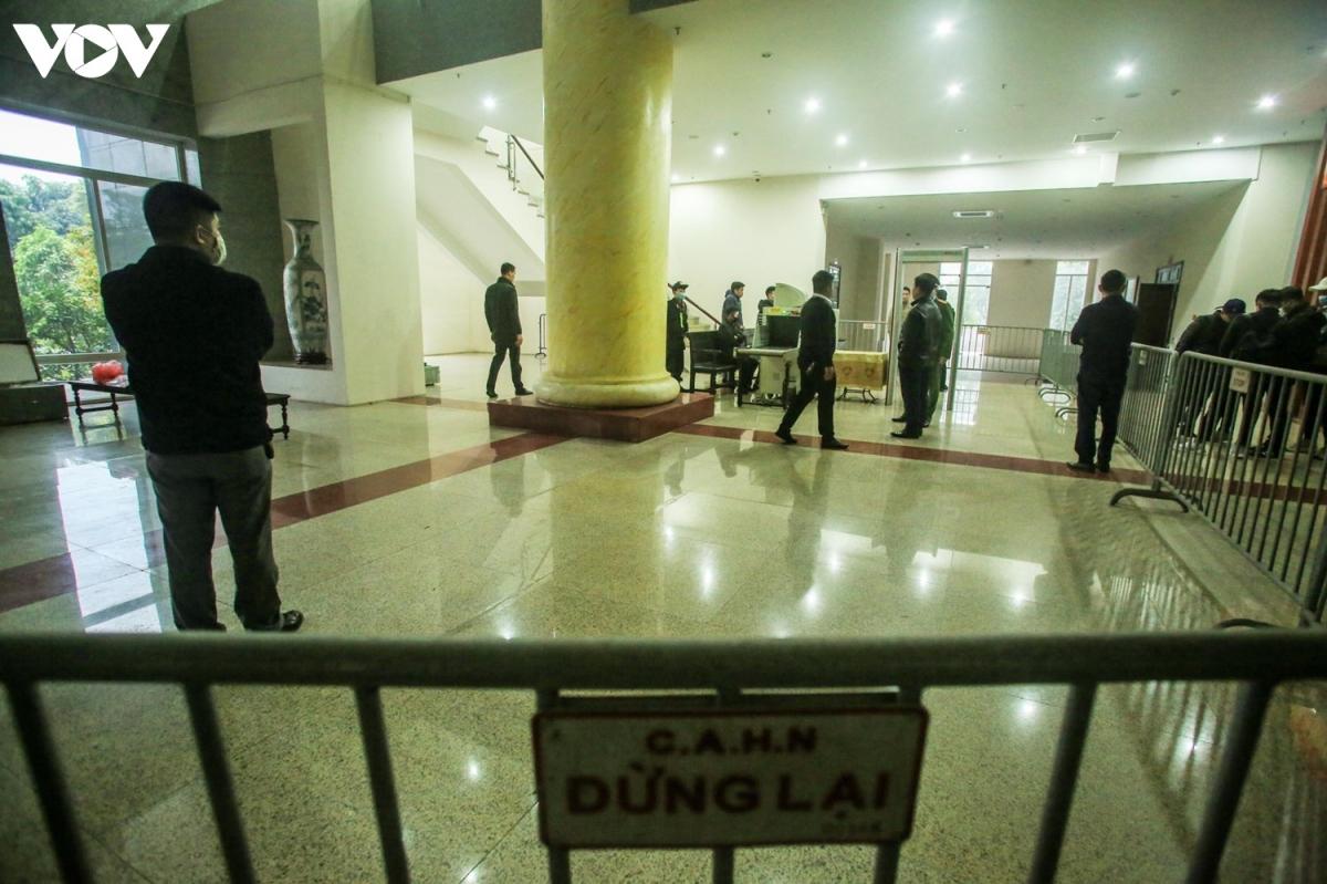 An ninh được thắt chặt tại phiên tòa xét xử ông Đinh La Thăng, Trịnh Xuân Thanh cùng 10 đồng phạm.