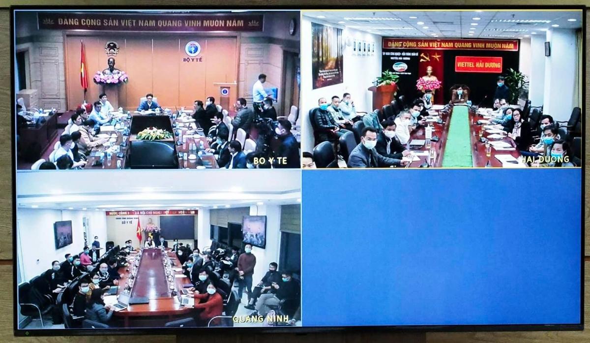 Cuộc họp khẩn trong đêm sau khi phát hiện 2 ca mắc COVID-19 trong cộng đồng tại Hải Dương và Quảng Ninh.