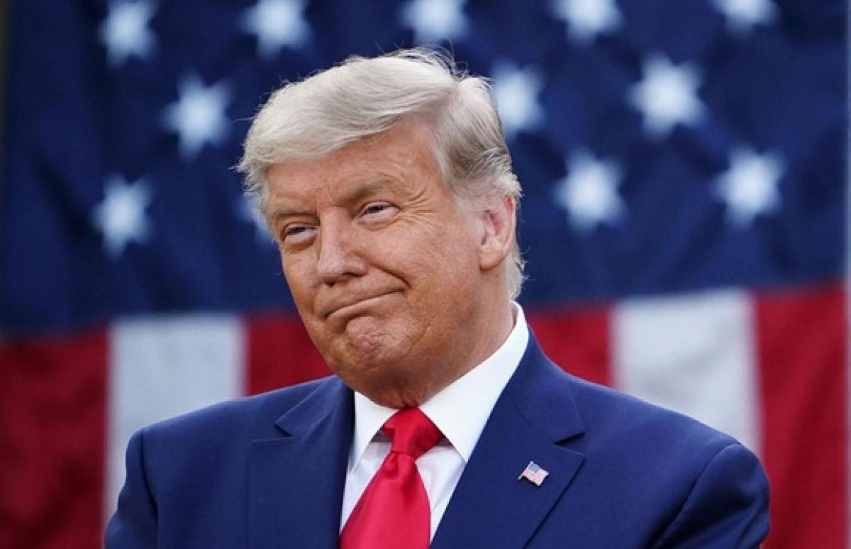 Tổng thống Donald Trump. Ảnh: Sky News