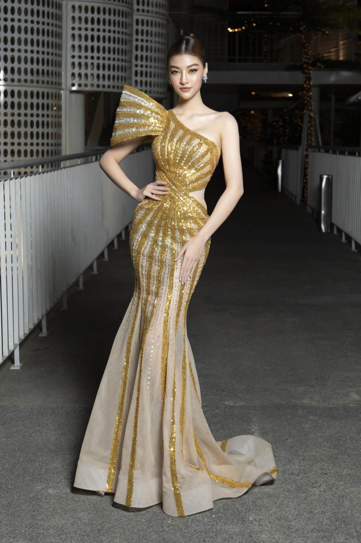 """Nàng Á hậu đa tài gốc Quảng Nam nhận đề cử """"Ngôi sao của năm"""" tại lễ trao giải."""