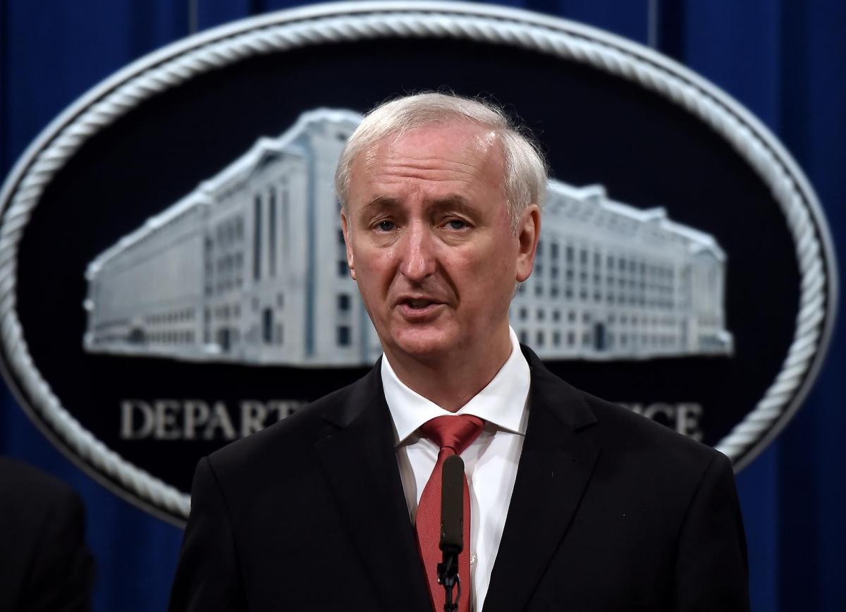 Quyền Bộ trưởng Tư pháp Mỹ Jeffrey A. Rosen. Ảnh: AFP