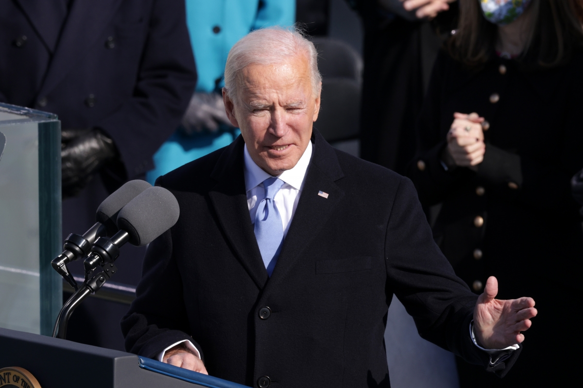 Tân Tổng thống Mỹ Joe Biden. Ảnh: Getty.