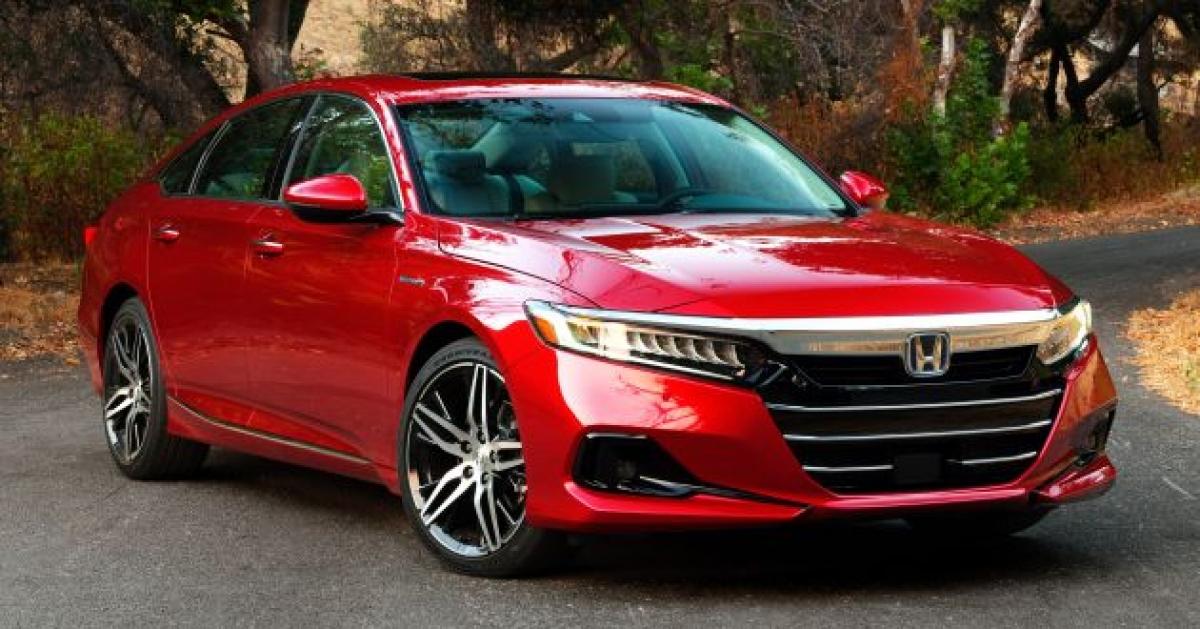 17. Honda Accord - 199.458 chiếc (giảm 26% so với năm 2019)