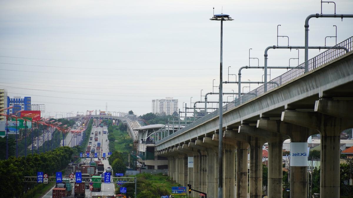 Tuyến metro số 1 đi qua địa bàn thành phố Thủ Đức