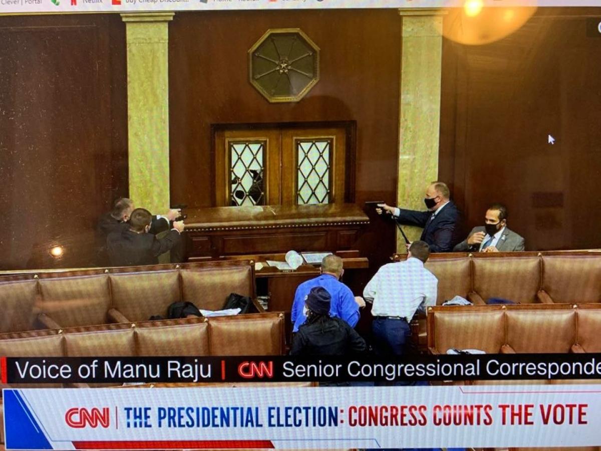 Ảnh chụp màn hình CNN.
