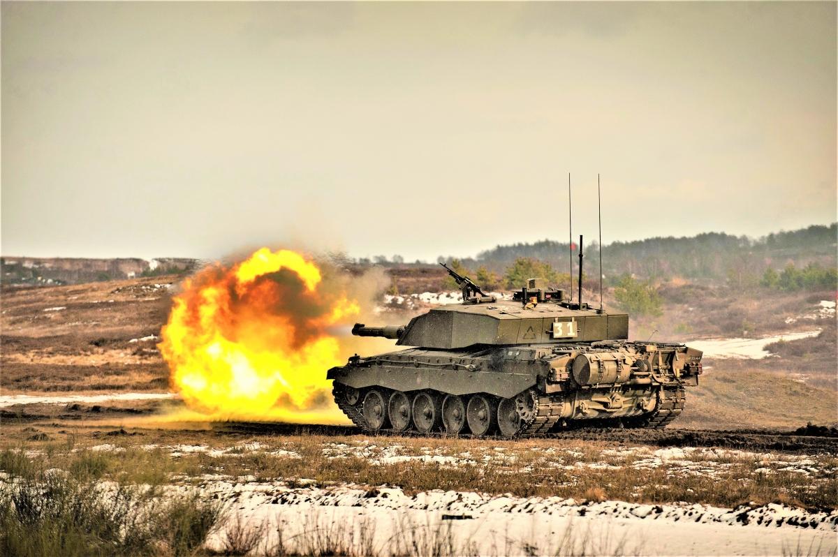 Quân đội Anh đang có trong trang bị một số lượng hạn chế tăng CR-2. Nguồn: wikimedia.org