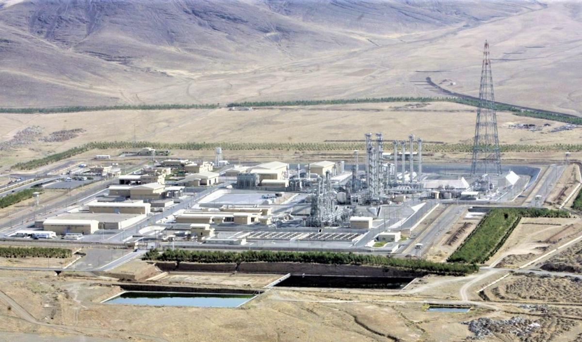 Cơ sở hạt nhân Natanz của Iran. Nguồn Reuters