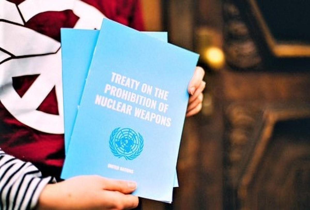 Công ước cấm vũ khí hạt nhân có hiệu lực là một thành công lớn của những người yêu chuộng hòa bình; Nguồn: flickr.com