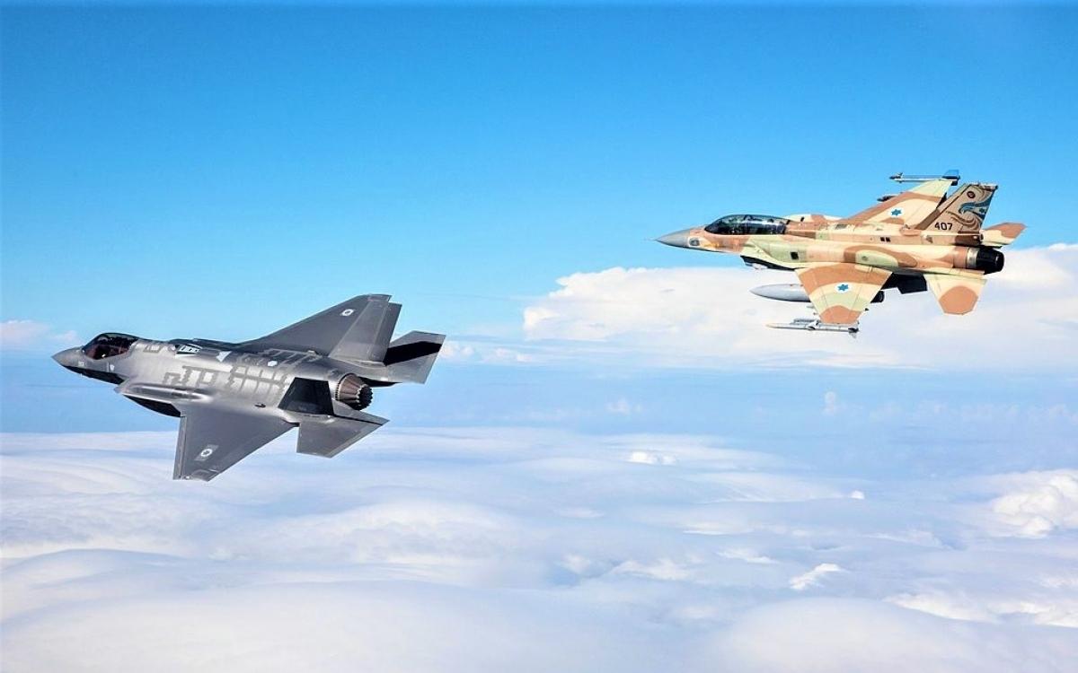 Israel có lực lượng không quân được trang bị, huấn luyện tốt và nhiều kinh nghiệm chiến đấu; Nguồn: wikipedia.org
