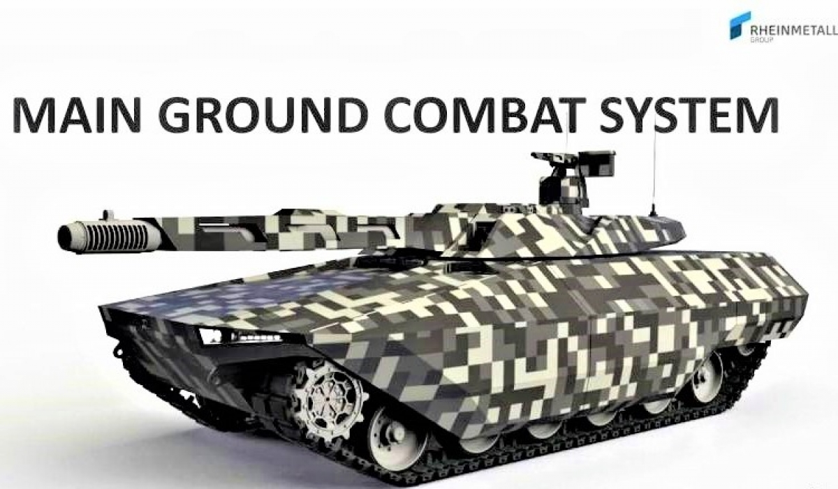 Một phương án MGCS theo ý tưởng của Tập đoàn Rheinmetall. Nguồn: topwar.ru