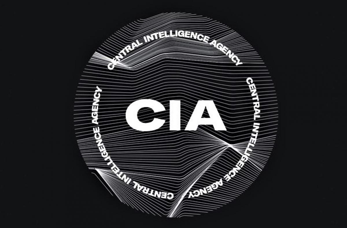 Logo mới của CIA; Nguồn: fastcompany.com