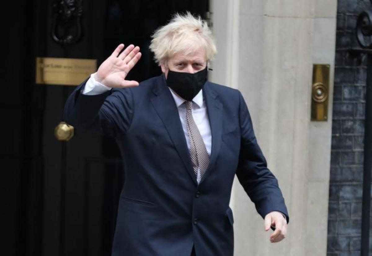 Thủ tướng Anh Boris Johnson. (Ảnh: PA)