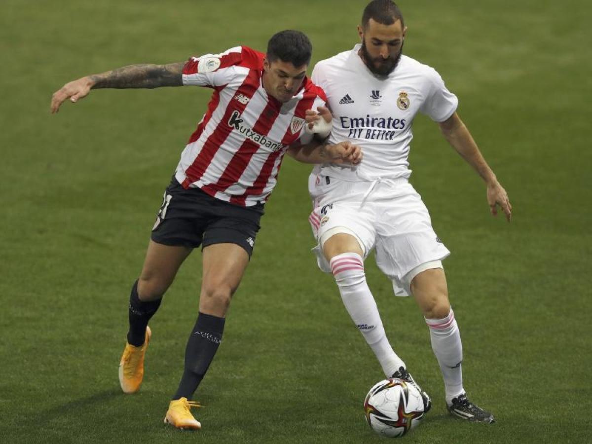 Xem lại bóng đá Real Madrid vs Athletic Bilbao, Siêu cúp TBN (15/01)