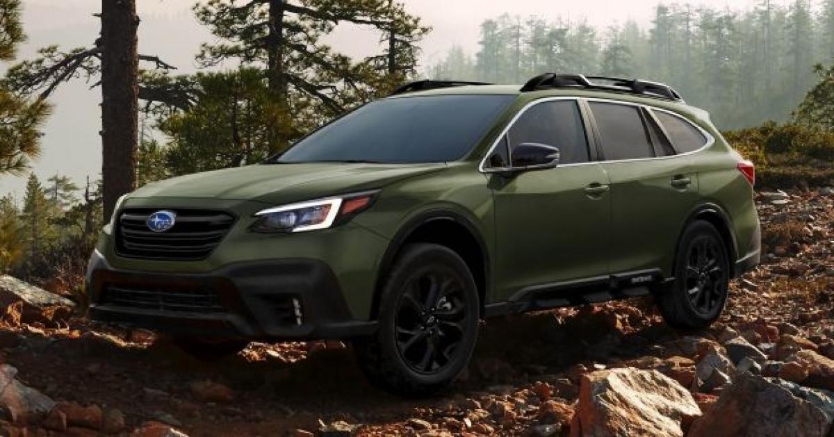 20. Subaru Outback - 153.294 chiếc (giảm 15% so với năm 2019)
