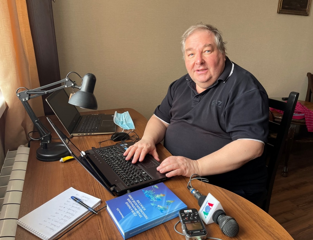 GS.TS khoa học lịch sử Dmitry Mosiakov.