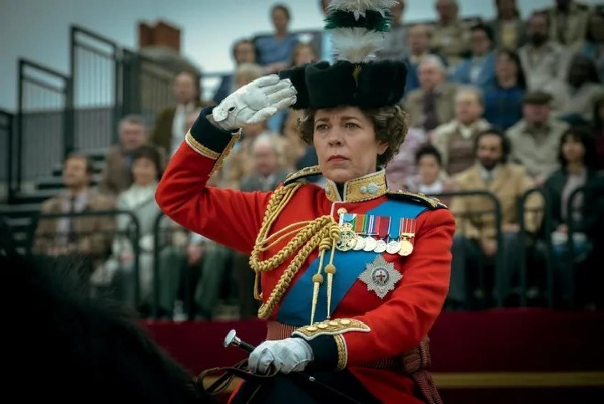 Nữ diễn viênOlivia Coldman trong vai Nữ hoàng