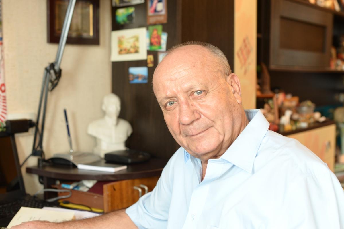 Giáo sư Alexander Sokolovsky, Khoa Châu Á Thái Bình Dương thuộc Đại học Tổng hợp Liên bang Viễn Đông (Ảnh: Anh Nam)
