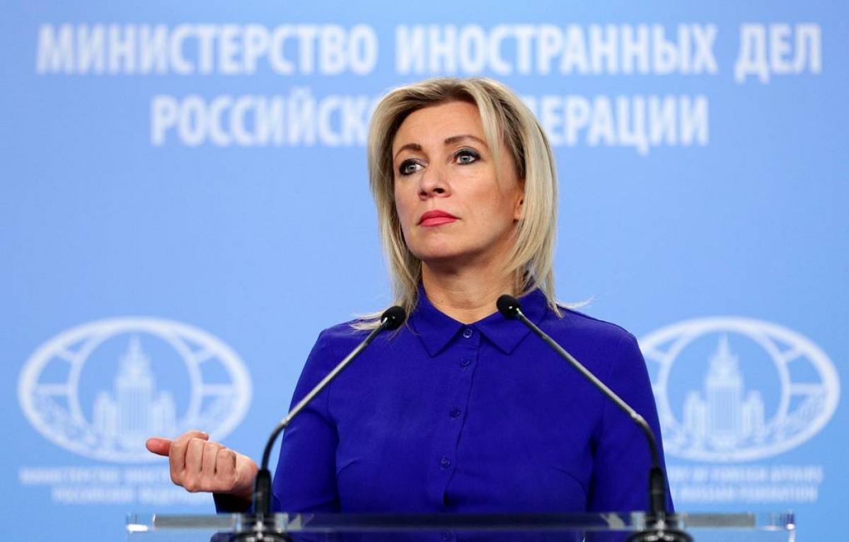 Người phát ngôn chính thức của Bộ Ngoại giao Nga Maria Zakharova