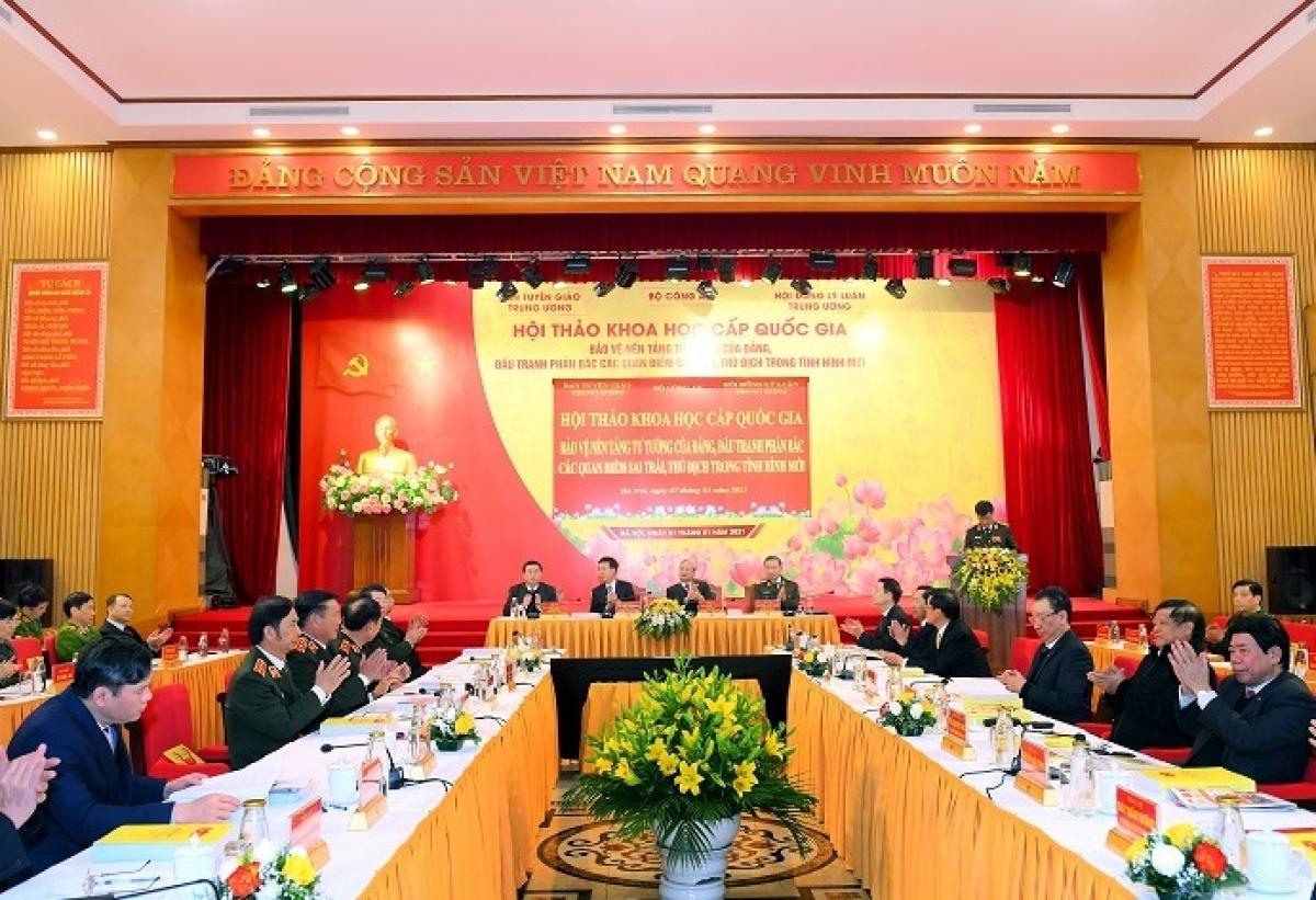 Hội thảo khoa học cấp quốc gia bảo vệ nền tảng tư tưởng của Đảng.