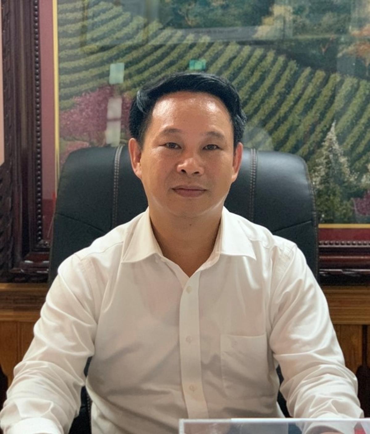 Ông Hoàng Thái Cương - Bí thư Thành ủy Sông Công, tỉnh Thái Nguyên
