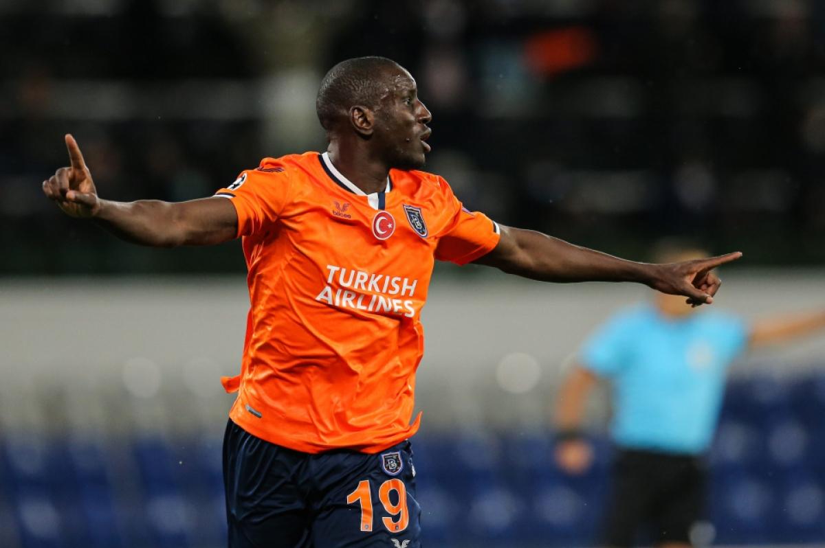 Demba Ba – Cựu tiền đạo Chelsea đang khoác áo Basaksehir