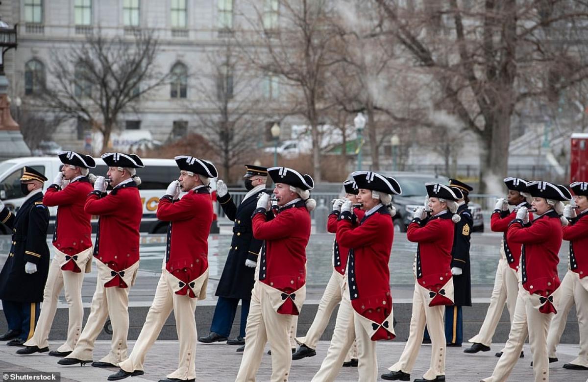 Sự kiện ngày 20/1 này sẽ diễn ra với an ninh được siết chặt nhất mà thủ đô nước Mỹ từng chứng kiến kể từ thời nội chiến (1861- 1865). Ảnh: Shutterstock