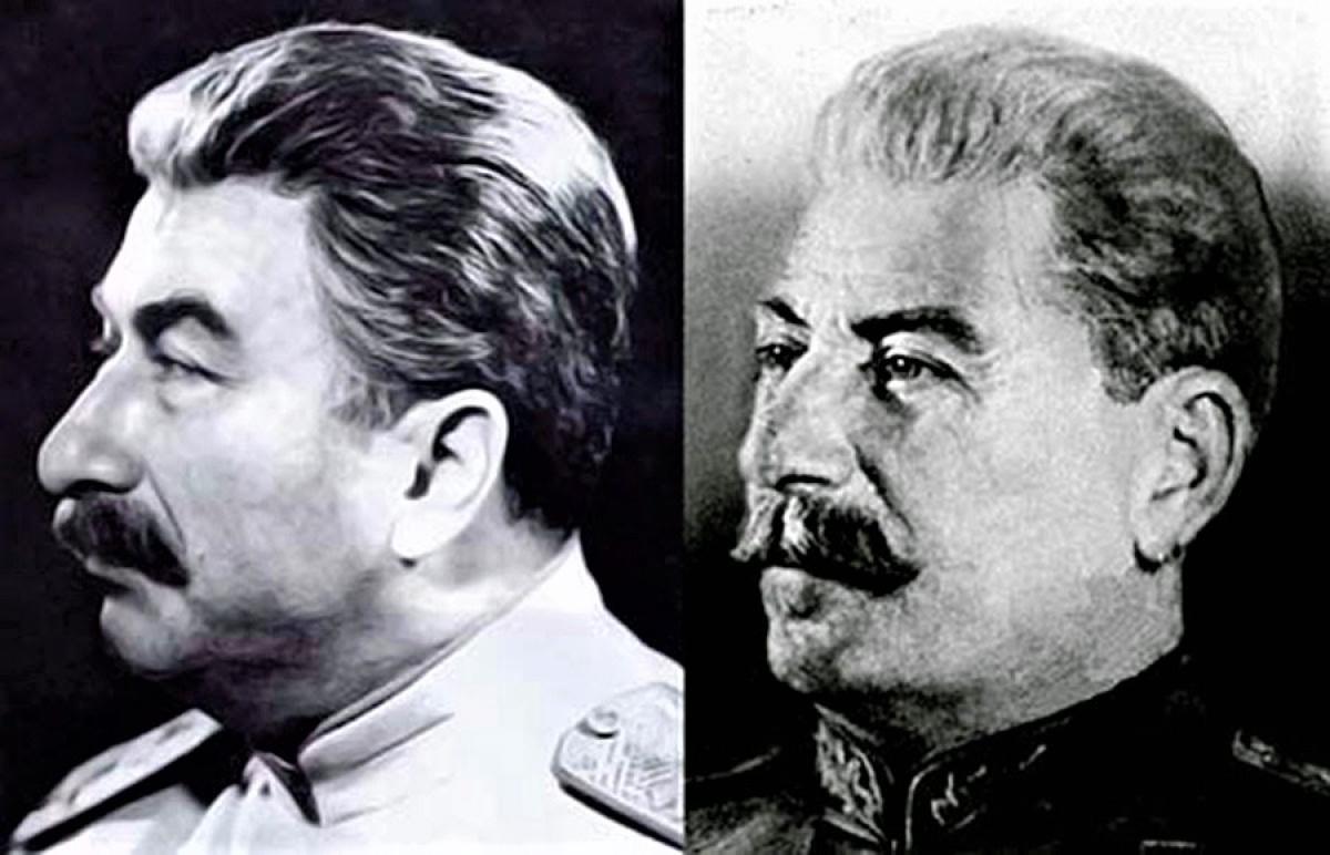 """Stalin và """"kép"""" của mình; Nguồn: RBTH"""