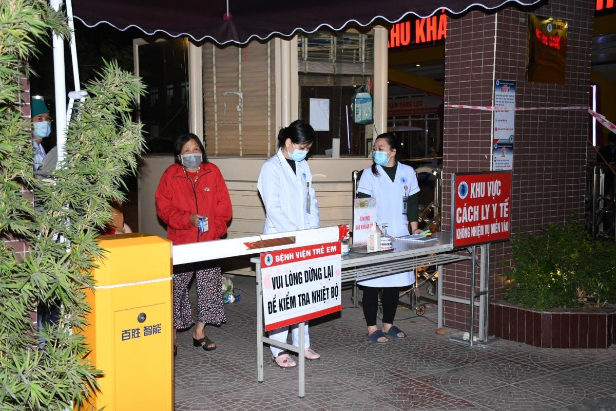 Ngay tối 28/1, Sở Y tế Hải Phòng đã tiến hành phong tỏa, cách ly Bệnh viện Trẻ em Hải Phòng.
