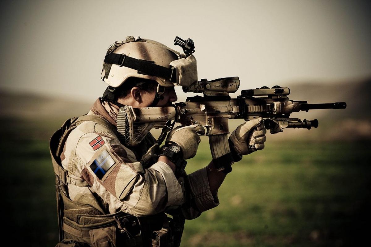 Heckler & Koch là súng cá nhân tiêu chuẩn của quân đội Na Uy; Nguồn: wikipedia.org