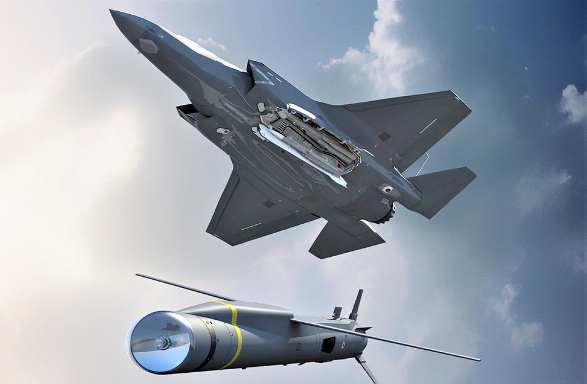 Minh họa SPEAR 3 được phóng từ F-35; Nguồn: mbdainc.com