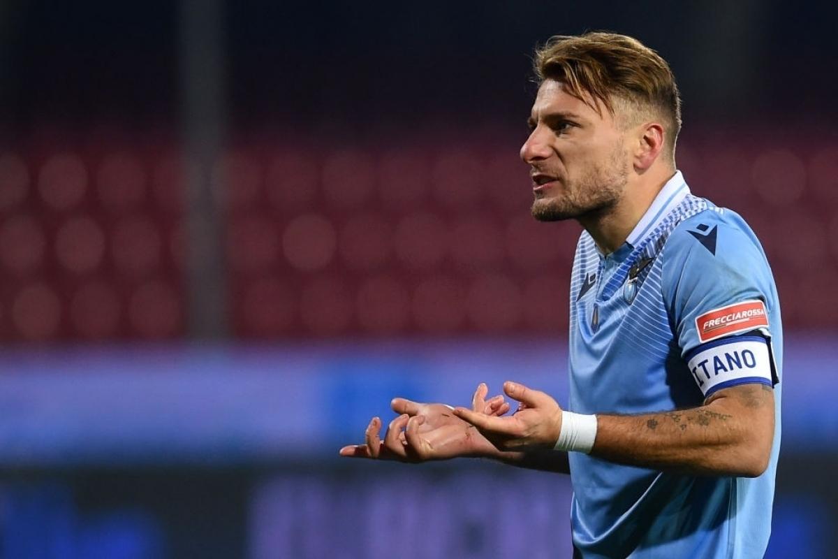 3. Ciro Immobile (Lazio) 10 bàn thắng, 2 kiến tạo.
