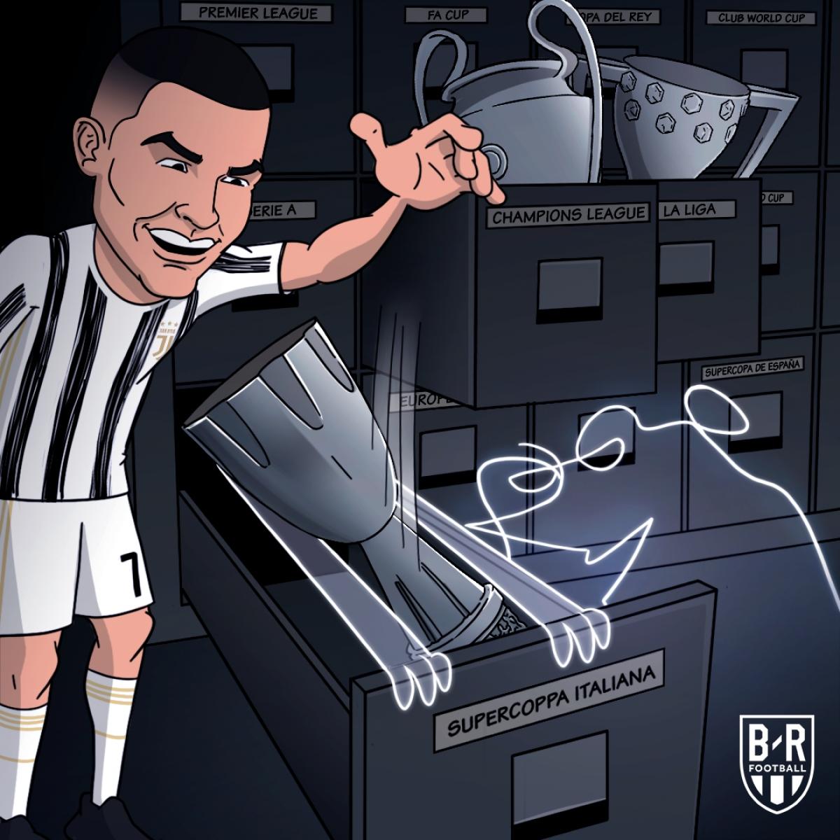 Ronaldo có thêm danh hiệu trong màu áo Juventus.