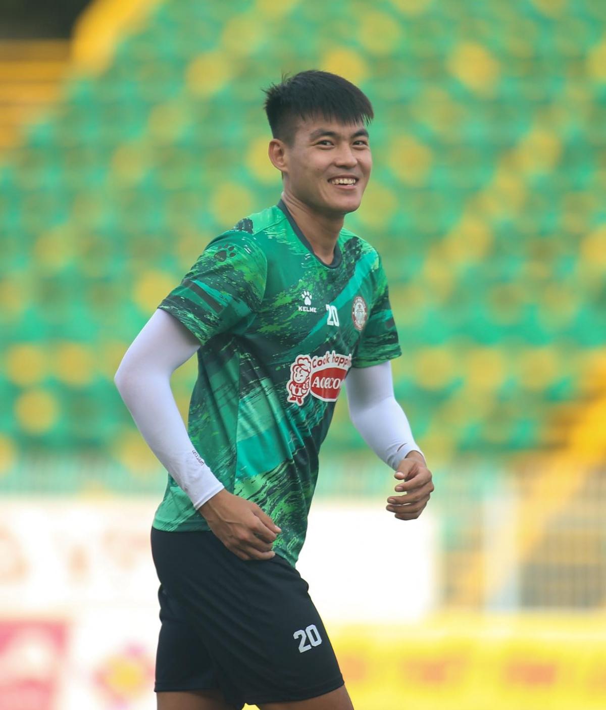 Trung vệ: Phạm Hoàng Lâm - Tuyển thủ U23 Việt Nam dưới thời HLV Toshiya Miura