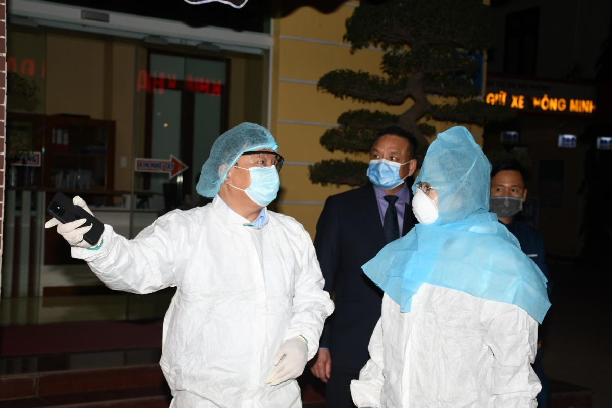 Bệnh viện đã rà soát, xác định được 46 F1 liên quan đến trường hợp này.