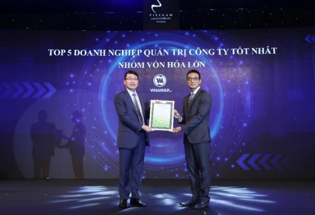 Quý cuối của năm 2020, Vinamilk liên tiếp nhận được các giải thưởng cao về hiệu quả kinh doanh và quản trị doanh nghiệp.
