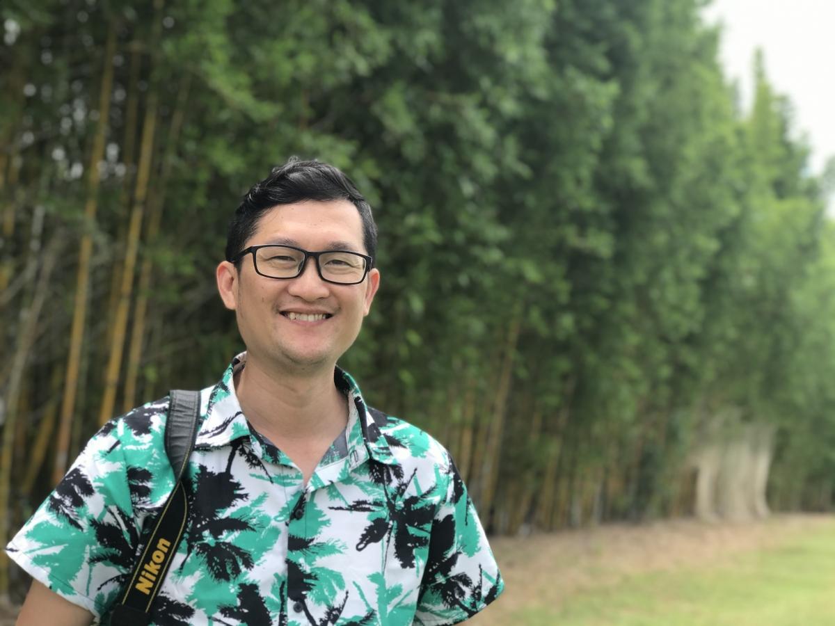TS Nguyễn Thế Dương - Giám đốc điều hành của trường Yêu Tiếng Việt. Nguồn: Trường Yêu Tiếng Việt.