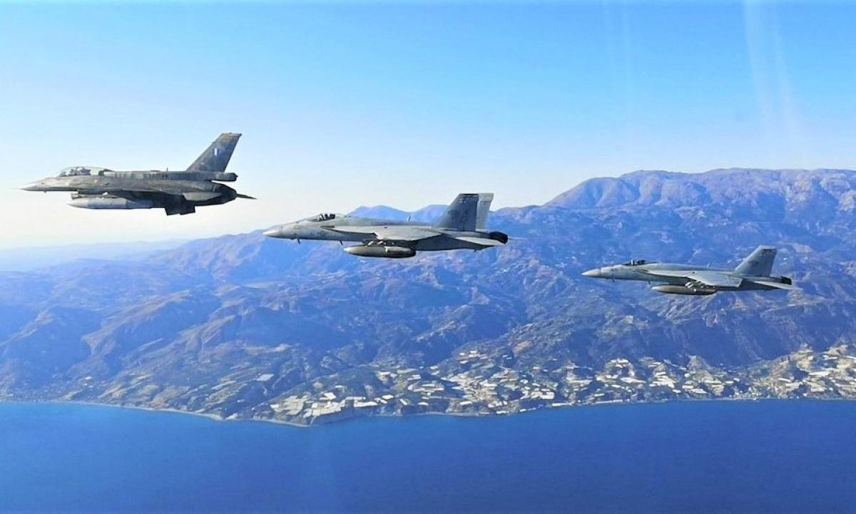 Với sự phục vụ của Rafale, Không quân Hy Lạp sẽ được nâng cấp khả năng chiến đấu; Nguồn: haf.gr