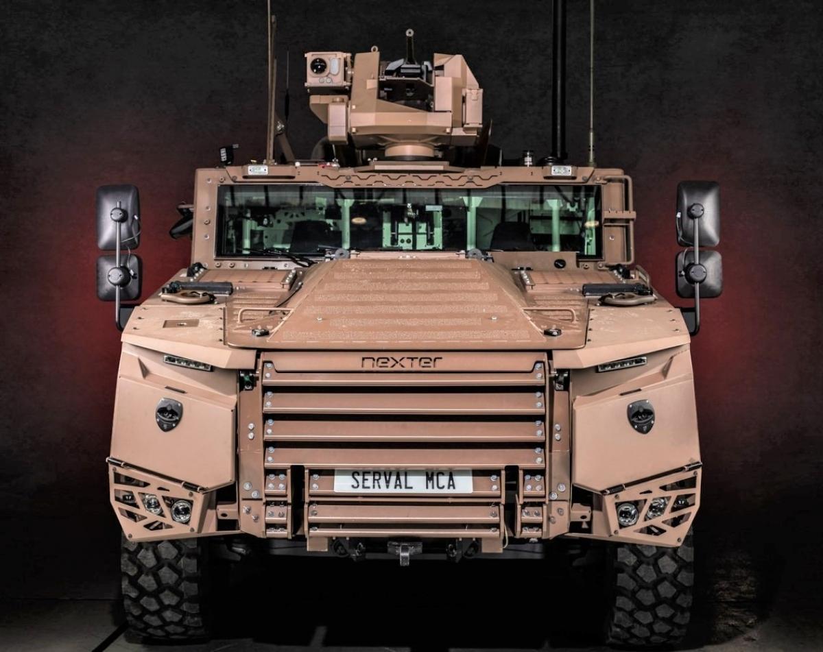 SERVAL có ba biến thể - hổ trợ hỏa lực, thông tin liên lạc và trinh sát; Nguồn: militaryleak.com