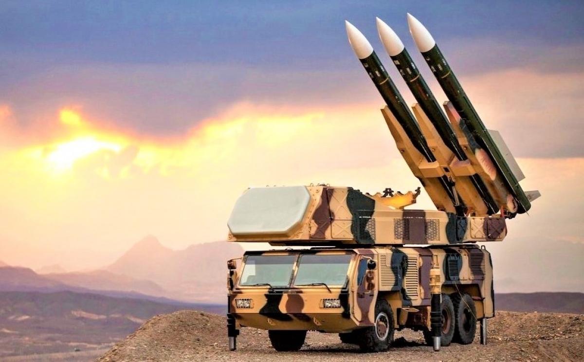 Hệ thống phòng không Khordad-3. Nguồn: militarywatchmagazine.com